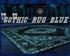 {DBA} GOTHIC RUG BLUE