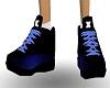 -x- sneakers blue