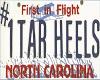 North Carolina Lic Plate