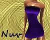 Purple Club Dress