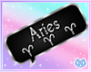 Aries Zodiac Bubble