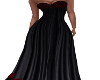 Black & Maroon Gown