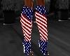ATS~ USA Flag Boots