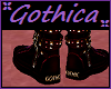lil goth boots Gothic