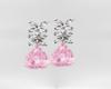 Pink Diamond Earings