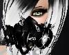 *White Gas Mask Toxic