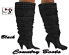 ~B~ Country Boots Black