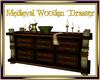 Medieval wooden Dresser