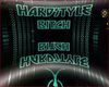 Hardstyle dome cyand/red