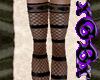 [X] Net Stripe Stockings