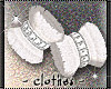 clothes - feather cuffs