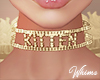 Kitten Gold Choker
