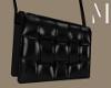 Blck Padded Cassette Bag
