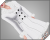 ~AK~ Fur Peacoat: White