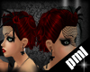 [PLM]dita hair red+veil