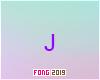 J Arial Purple