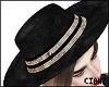 🌹 Sequin Hat Gold