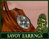 Savoy Earrings Gray