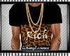 *K* Black Cheetah Tee