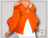 Orange Volume Top