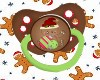 Baby Gingerbread Paci.