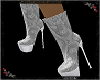 Lace Ankle Boot white