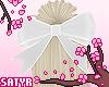 Kawaii Hair Bow White