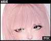 金. Pink Bangs