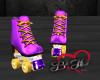 Roller Skates -Purple