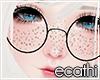 #Ec# Round Glasses black