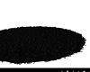 BLACK ROUND FUR RUG