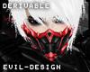 #Evil Red Assassin Mask