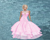 pretty in pink GA gown
