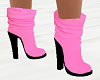 Pink n  Blk Boots