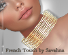 """SAV"" SYBILE GOLD CHOKER"