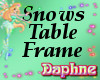 Snows Table Frame