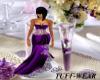 *tuff*Purple maid dress