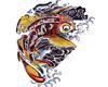koi fish for corner