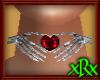 Skeleton Choker Ruby