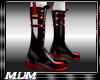 (M)~Blade Boots Blk/Red