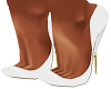 White Samira Pumps