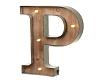 (AF) Sign Letter P