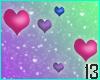 Bi Pride Hearts