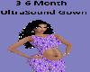 3-6m Ultrasound Gown