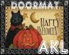 AKL Halloween doormat