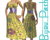 Paquita Dress in Maize
