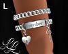"""Bracelet """"my love"""" L"""