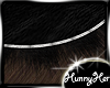 fGlamf Black Fur Rug