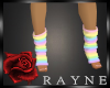 rainbow love socks