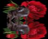 flower rose wolf stik